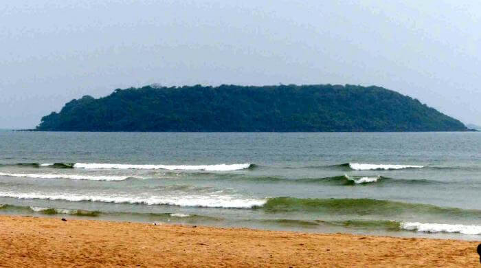 The Bat island in Goa - RentMyBike