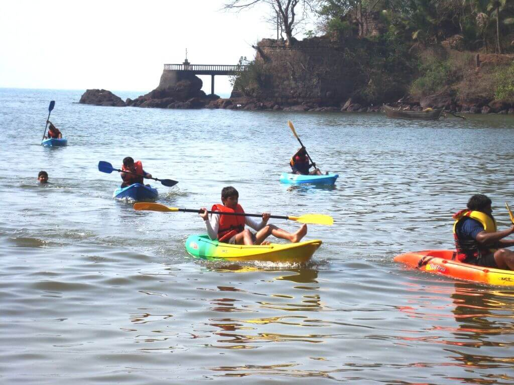 Kayaking Goa - RentMyBike